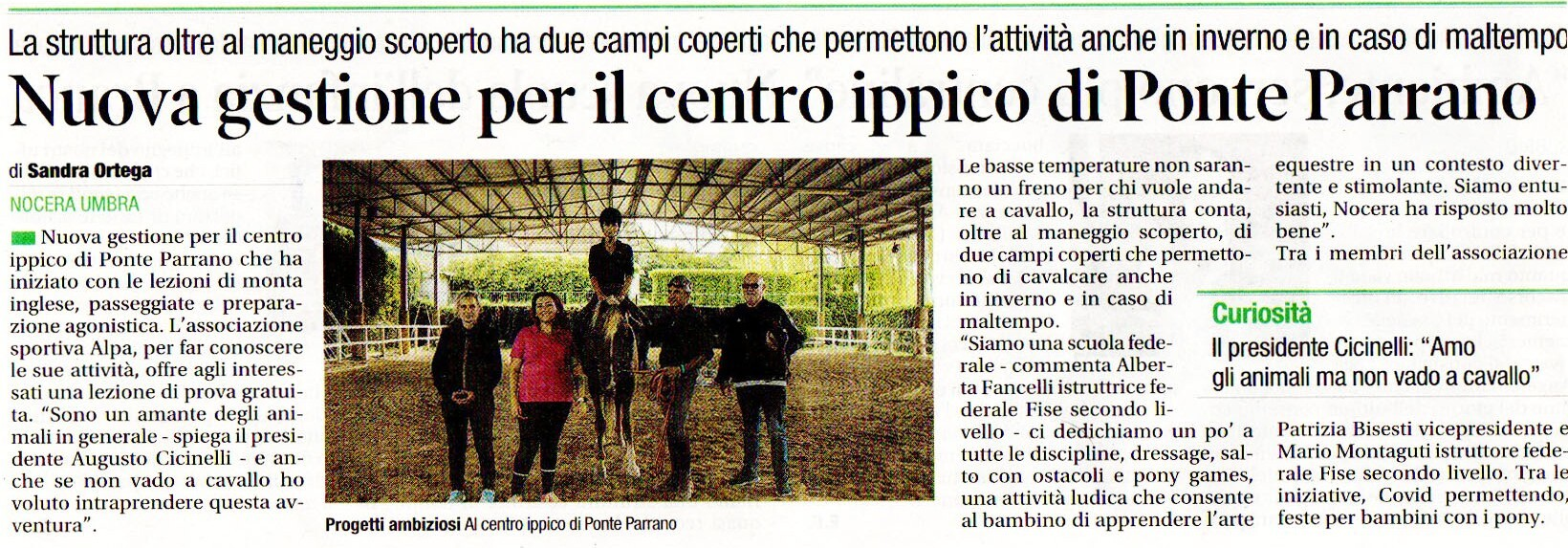CORRIERI DELL'UMBRIA 29/09/2020